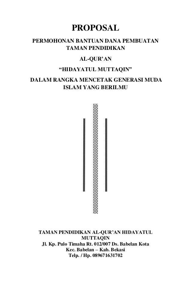 Proposal Maulid Nabi 1436 H Sasti Vi