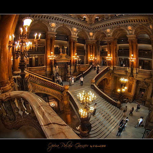 0616 Opéra Palais Garnier (Fisheye world)