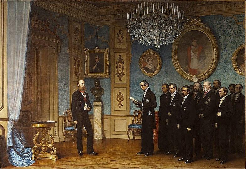 File:Dell'Acqua Ernennung Maximilians zum Kaiser Mexikos.jpg
