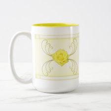Yellow Rose Mug mug