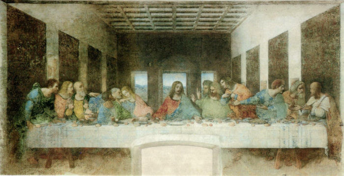 Curiosidade da última ceia de Leonardo Da Vinci