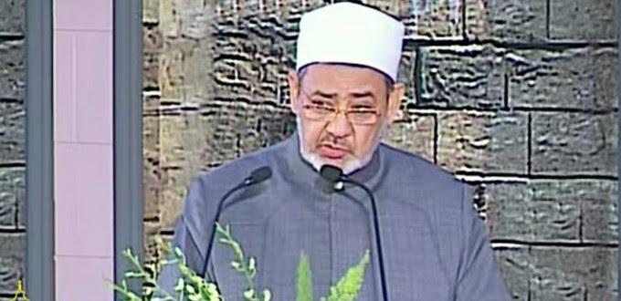 El imám Ahmed Al Tayyeb da las gracias al Papa por decir que la religión islámica no es terrorismo