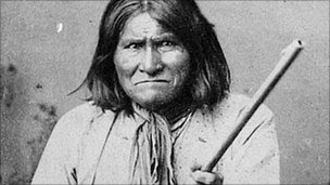 Geronimo in 1887