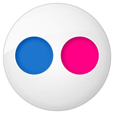 social flickr button icon social bookmark iconset yootheme
