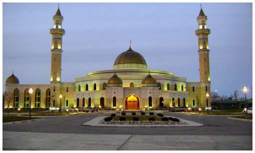 Mosque of Dearborn, Michigan, USA