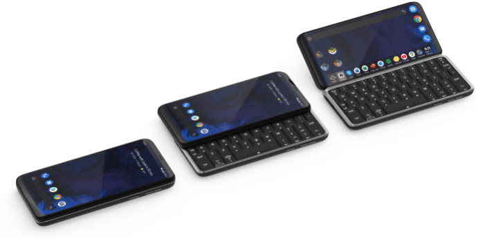 The Astro Slide is a 5G phone from Planet Computers with a physical keyboard