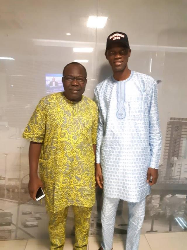 Sanwo-Olu Campaign DG Meets Lagos' APC Warring Faction, Banire Ahead Of Primaries