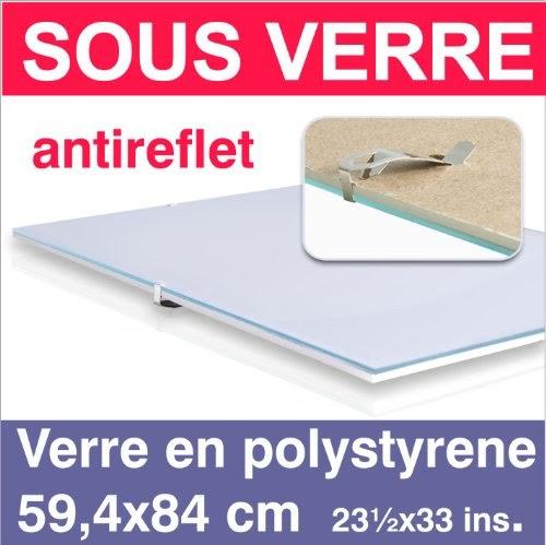 cadres sous verre 59 4x84 din a1 cadres sous verre sous verre cadre verre en polystyrene. Black Bedroom Furniture Sets. Home Design Ideas