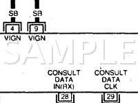 Repair Diagrams for 1997 Nissan 200SX Engine, Transmission ...