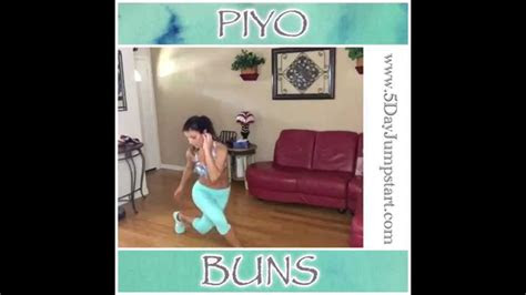 piyo buns workout youtube