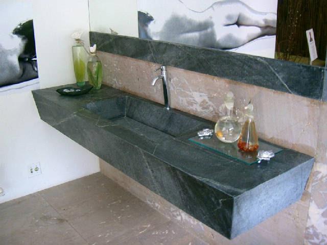 Slab Granite Countertops Soapstone Sink
