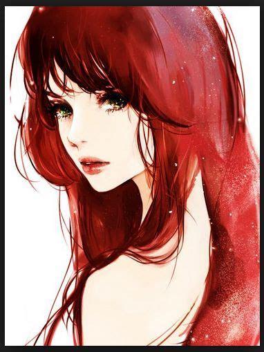 anime girl  brown hair  green eyes tumblr google