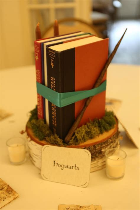 Hogwarts (Harry Potter) table centerpiece   My Geeky but