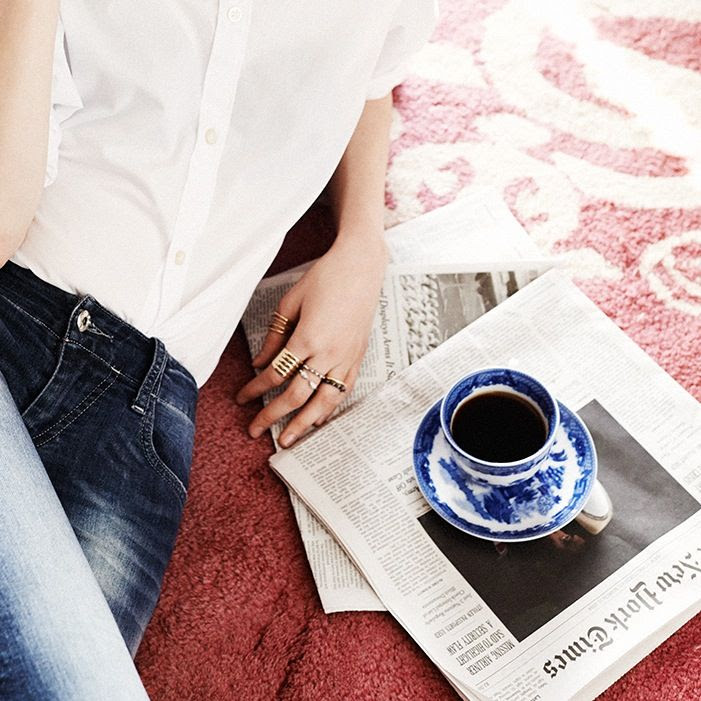 Le Fashion Blog Bauble Bar Coco Rocha Jewelry Collection Rings Cage Set Blue White China Cup Saucer Jeans Via Tom Schirmacher photo Le-Fashion-Blog-Bauble-Bar-Coco-Rocha-Jewelry-Collection-Rings-Cage-Set-Blue-White-China-Cup-Saucer-Jeans-Via-Tom-Schirmacher.jpg
