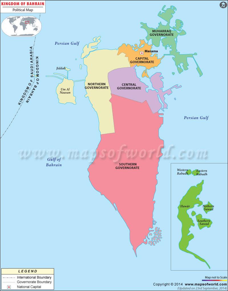 Political Map of Bah