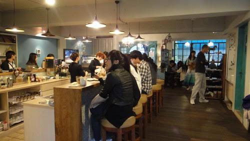 朵兒咖啡館內部