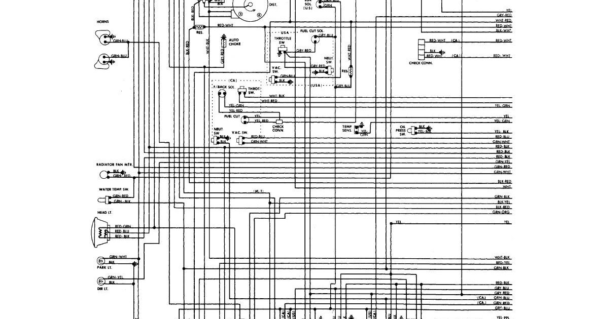 Nissan Sunny Electrical Wiring Diagram
