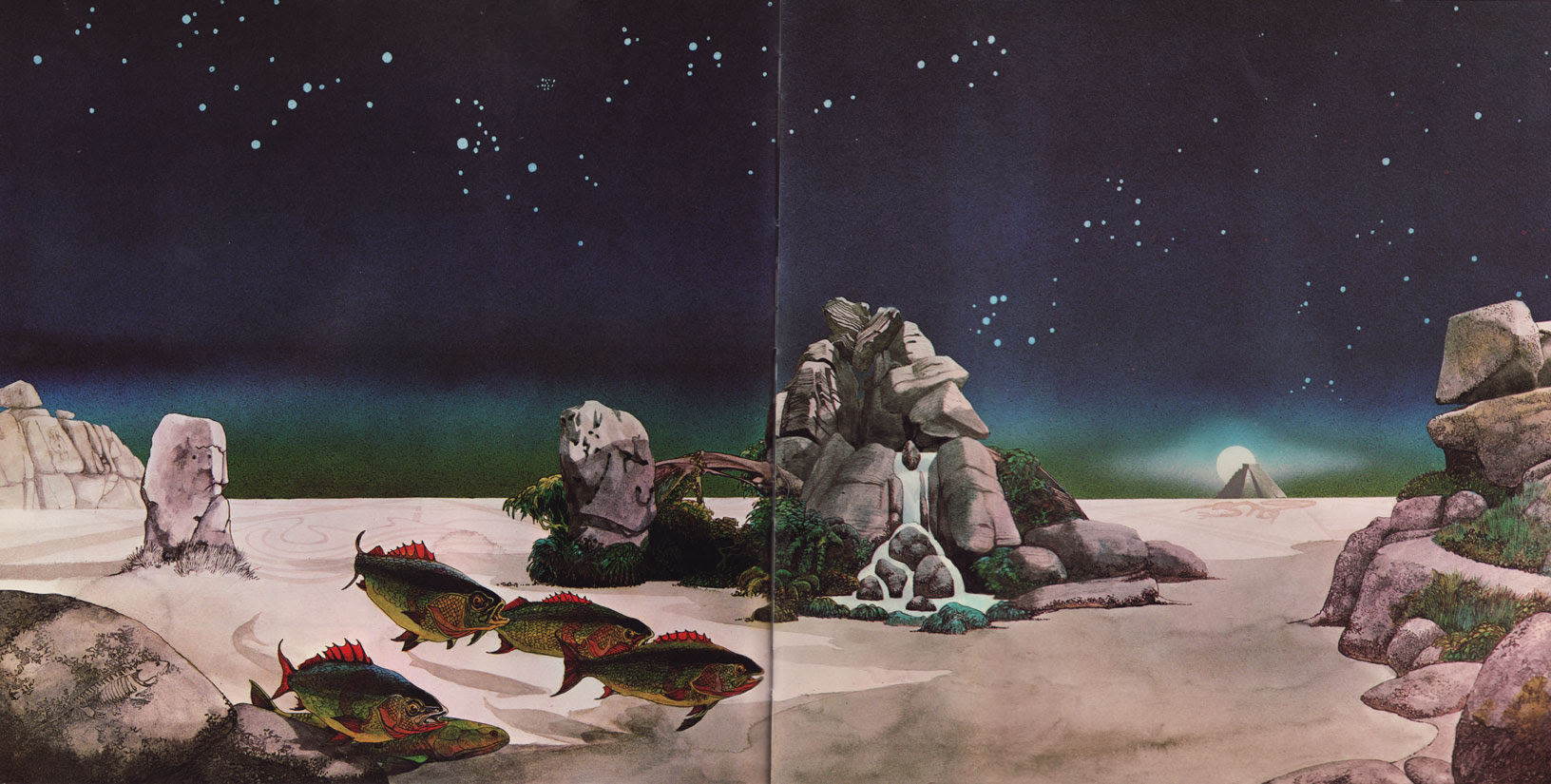 20 Tales From Topographic Oceans By Roger Dean