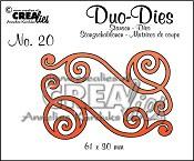 Duo Dies no. 20 Swirls 1