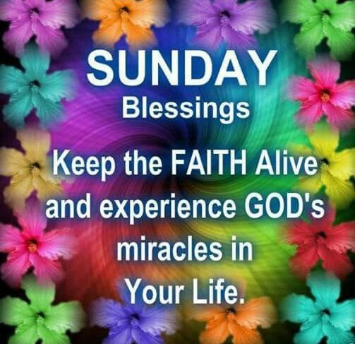 Sunday Blessings Pictures, Photos, and Images for Facebook ...