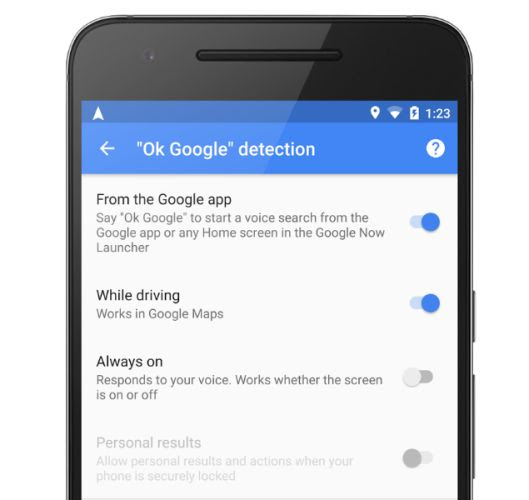 Google Maps Use Ok Google Voice Commands Just When You