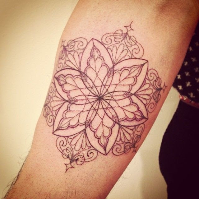 Simple Floral Inner Arm Tattoo Best Tattoo Design Ideas