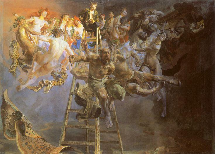 Círculo Vicioso, de Jacek Malczewski