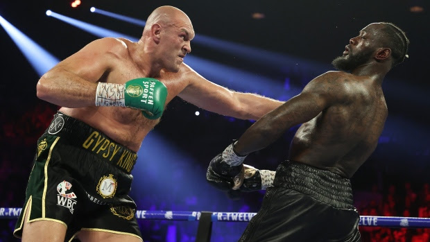 Raw video: Watch Tyson Fury post-fight confrontation with Deontay Wilder — 'I don't respect you'