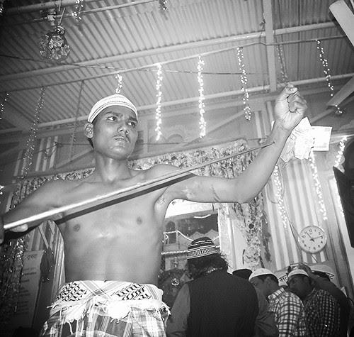 Hand Piercing Haji Malang by firoze shakir photographerno1