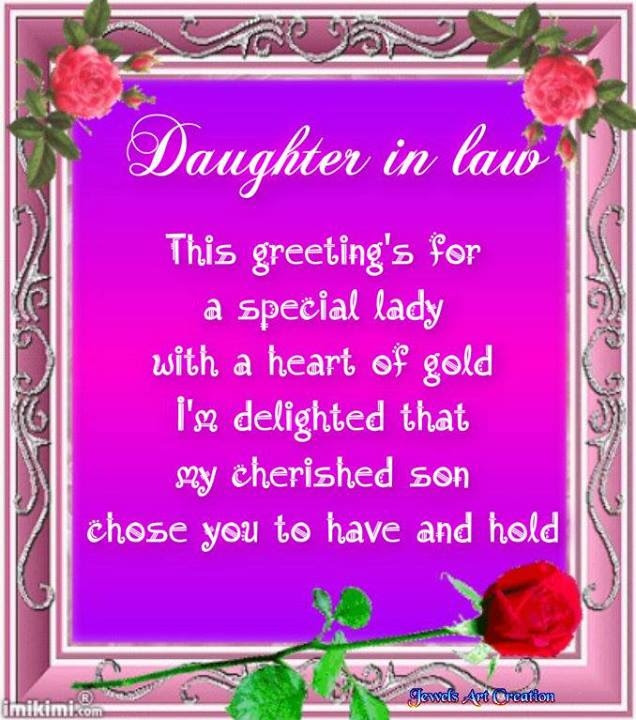 Daughter In Law Quote Pictures Photos And Images For Facebook