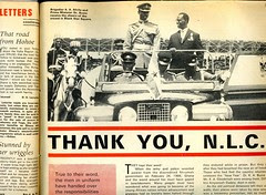 election 1969 handover