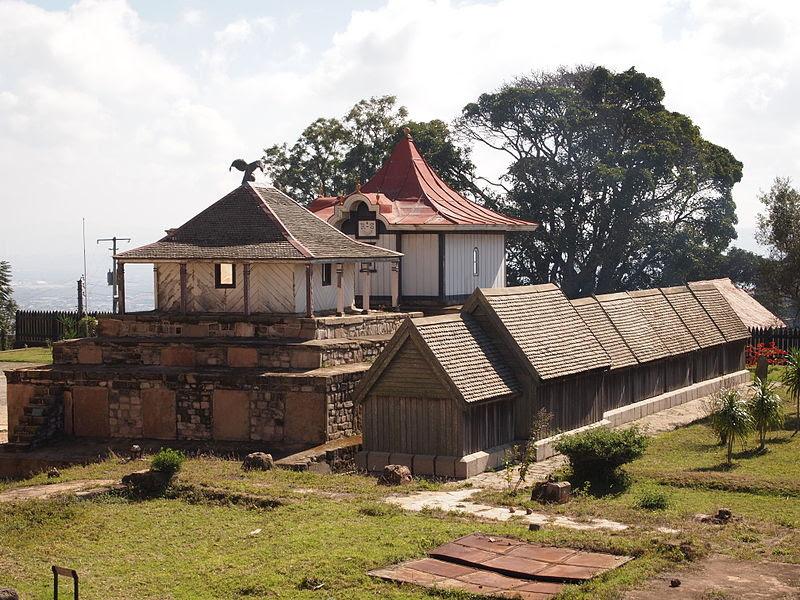 File:All royal tombs at the Rova of Antananarivo royal palace in Madagascar.JPG