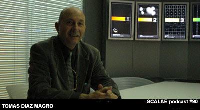 Tomás Díaz Magro en la Zona de Expertos, para SCALAE