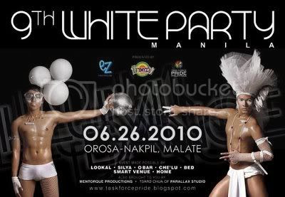 White Party Manila 2010 - Guys
