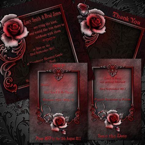 64 best Gothic wedding images on Pinterest   Gothic