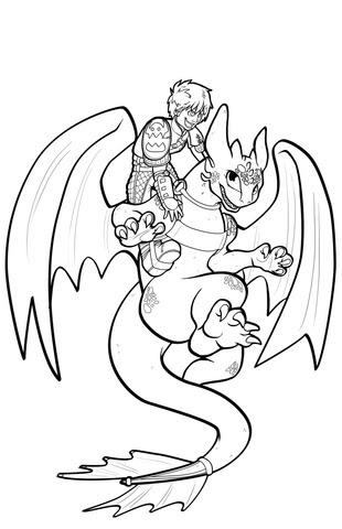ausmalbilder dragons ohnezahn kostenlos