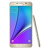 Samsung GALAXY Note5 (Dual SIM) SM-N9200 (SIMフリー LTE, 32GB, Gold Platinum)[並行輸入]