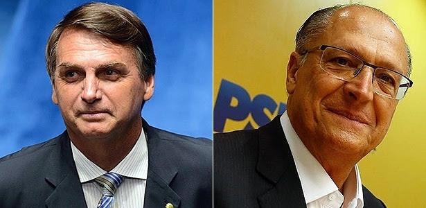 Resultado de imagem para alckmin bolsonaro