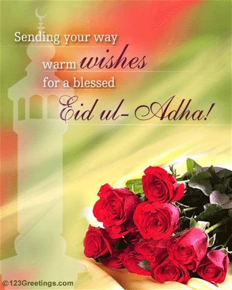 A Blessed Eid ul Adha! Free Allah's Blessings eCards