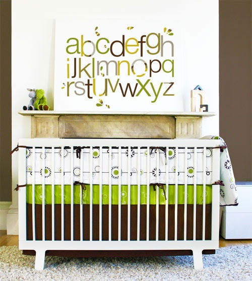 Modern Nursery Bedding & Nursery Decor
