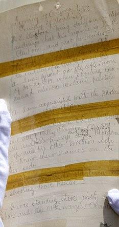 Transcript of the 1881 coroner's inquest into the gunfight at the  OK Corra