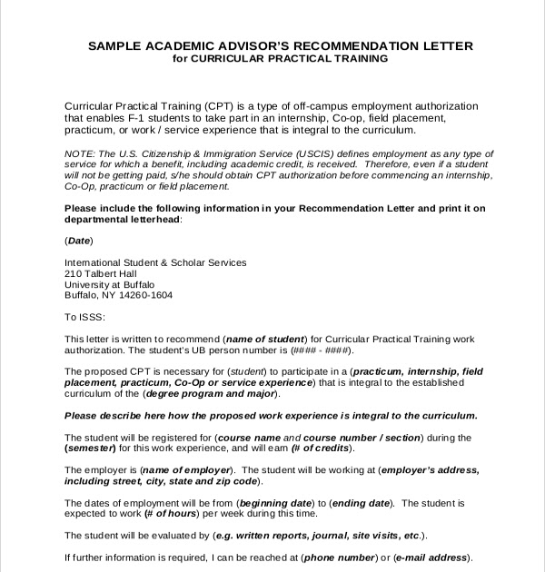 Sample Recommendation Letter For Internship from lh6.googleusercontent.com