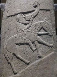 Pictish Warrior with Drinking Horn (Kim Traynor)