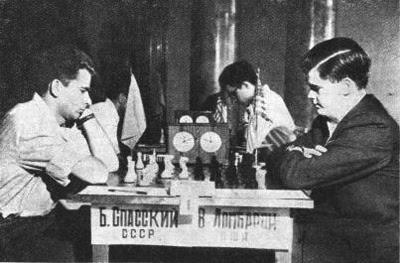 Boris Spassky vs. William Lombardy