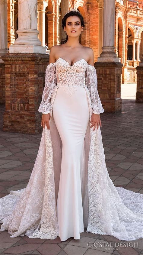 40 Gorgeous Lace Sleeve Wedding Dresses   The Best Wedding