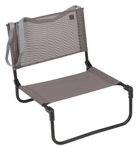 Lafuma cb trendy batyline marron chaise pliante mobilier de camping chaises - Chaise de plage lafuma pliante ...