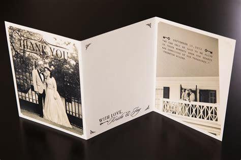 Wedding Photo Thank You Cards Folded   Shilohmidwifery.com