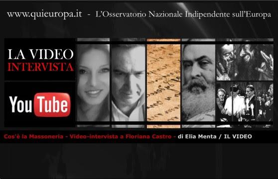 Video-intervista a Floriana Castro - di Elia Menta - La Massoneria