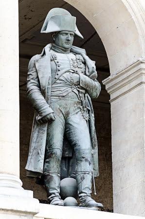 PARIS, FRANCE - APRIL 10  Statue of Napoleon Bonaparte, Les Invalides on april 10 2013, Paris, France  Stock Photo - 20372054