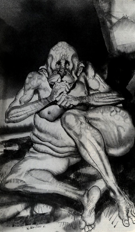 Josep M. Beá - Lovecraft Monster Gallery - 18